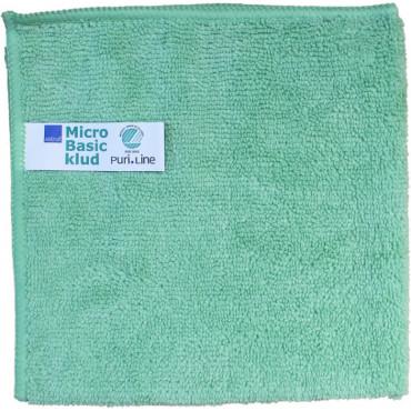 ABENA Puri-Line Basic mikrokuituliina 32x32cm vihreä 10kpl