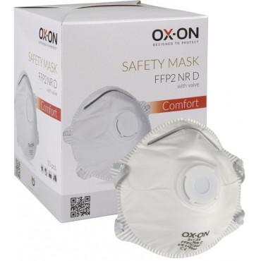 OX-ON Comfort FFP2NRD hengityssuojain venttiilillä