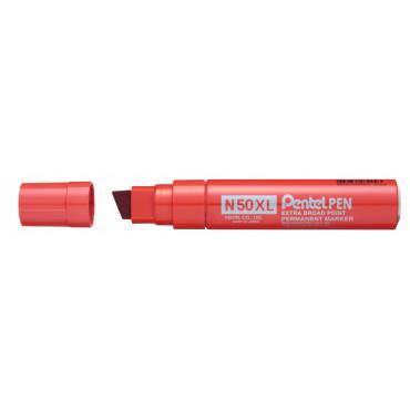 Huopakynä Pentel N50XL paksu punainen
