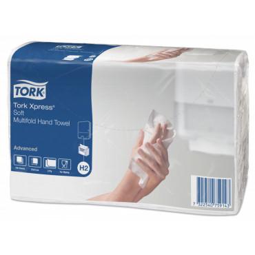 Tork Xpress® Soft Multifold käsipyyhe H2