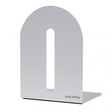 Kirjatuki metallia 15cm, valkoinen