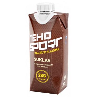 TEHO Sport palautusjuoma suklaa 0,33L