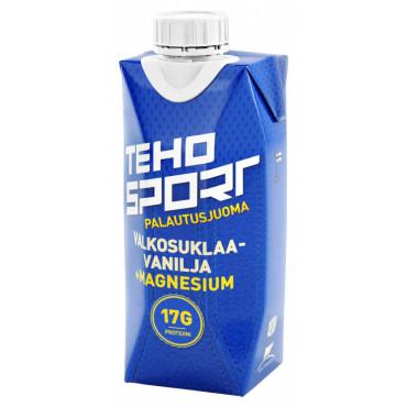 TEHO Sport palautusjuoma valkosuklaa-vanilja 0,33L