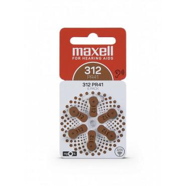 Maxell 312 kuulokojeparisto 6-pack
