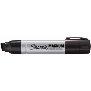 Sharpie Metallirunkoinen Magnum, musta, permanent