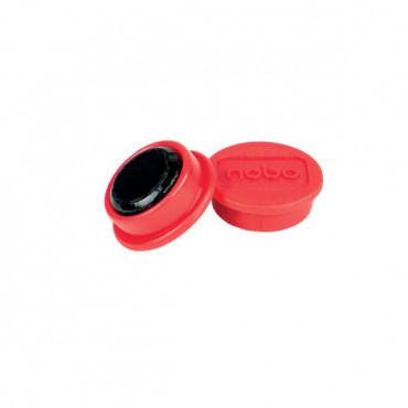 Nobo magneetit 24mm punainen (10)
