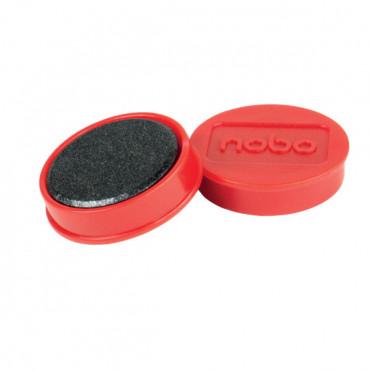 Nobo magneetit 32mm punainen (10)