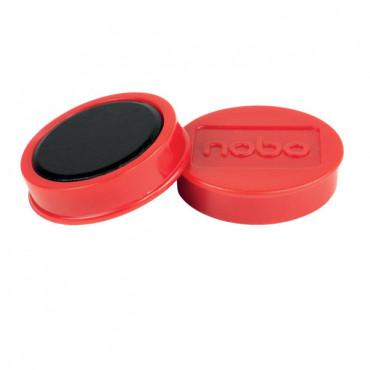 Nobo magneetit 38mm 1,5kg punainen (10)