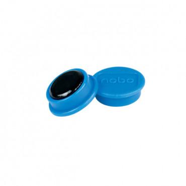 Nobo magneetit 24mm sininen (10)