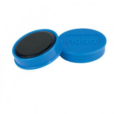 Nobo magneetit 32mm sininen (10)