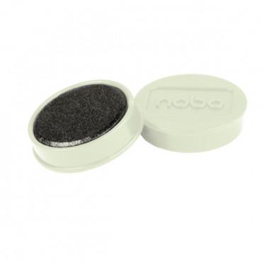 Nobo magneetit 32mm valkoinen (10)