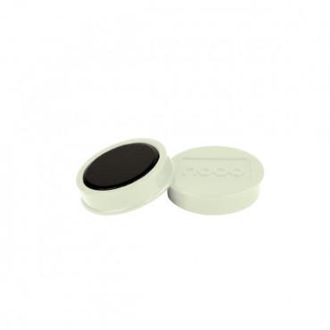 Nobo magneetit 38mm 1,5kg valkoinen (10)