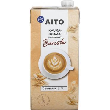 Aito Kaurajuoma Barista UHT 1 litra