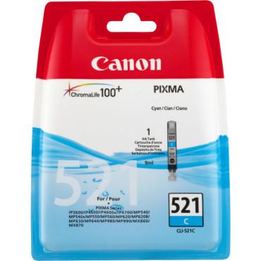 Canon CLI-521c mustepatruuna 9 ml sininen