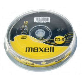 Maxell CD-R 10-pack spindle