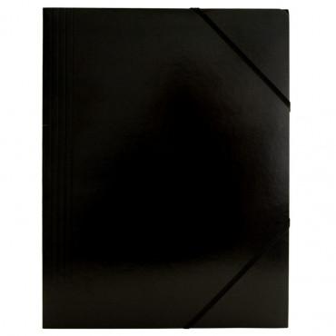 Kulmalukkosalkku A4 musta