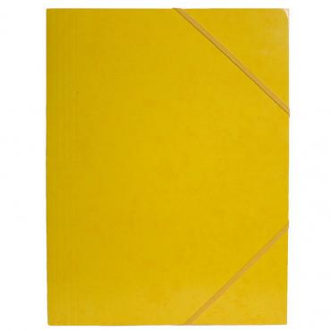 Kulmalukkosalkku A4 keltainen