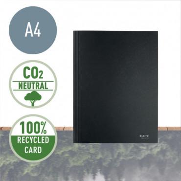Leitz Recycle läppäkansio A4 krt musta
