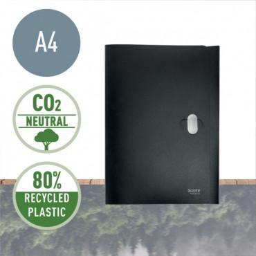 Leitz Recycle läppäkansio A4 PP musta
