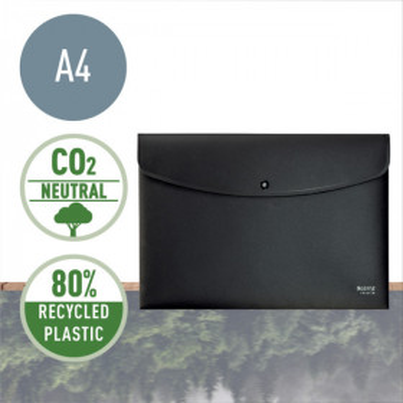 Leitz Recycle asiakirjatasku A4 PP musta
