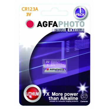 AgfaPhoto paristo CR-123A 3V 1-pack