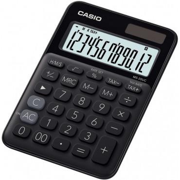 Casio MS-20UC BK pöytälaskin musta