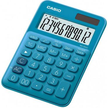 Casio MS-20UC BU pöytälaskin sininen