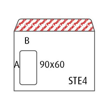 Ikkunakuori ST E4 AH 9060 POSTAC (500)