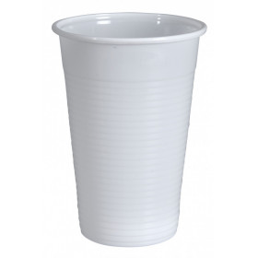 Gastro-Line juomapikari 20cl PP valkoinen (100)