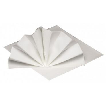 Gastro-Line lautasliina valkoinen 40x40cm airlaid (50)