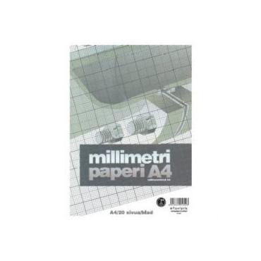 Millimetrilehtiö A4/20